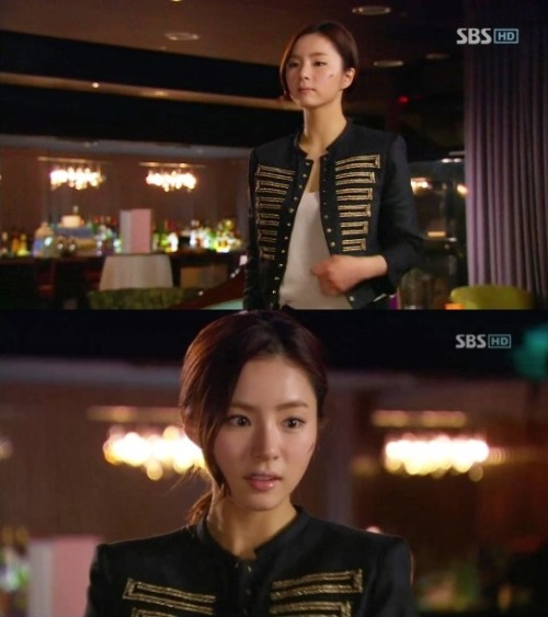 Ga Young's Fashion from Fashion King 1  Gold embroidered special  jacket by EPITAPH..