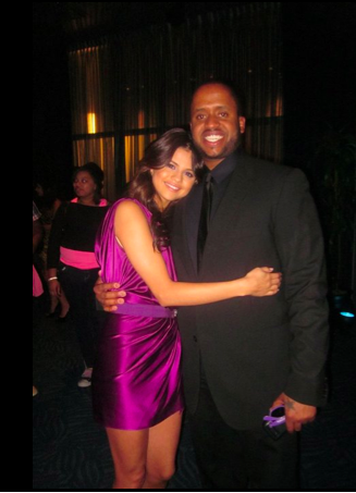 Selena and Kenny at 'Never Say Never' premiere 2011