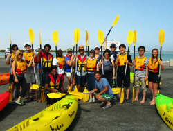 TEDxSummit Kayaking in Doha among the mangrove forest- Sunday tour