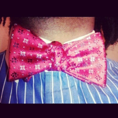 The Bowtie (Taken with instagram)