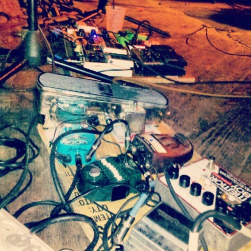 effectpedal:  As Cities Burn pedalboard, photo by dalg0