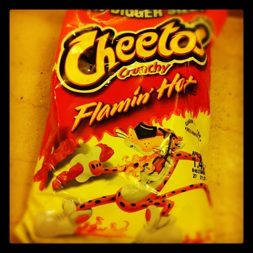 This American version #cheetos is addictive (Taken with Instagram at Las Vegas)