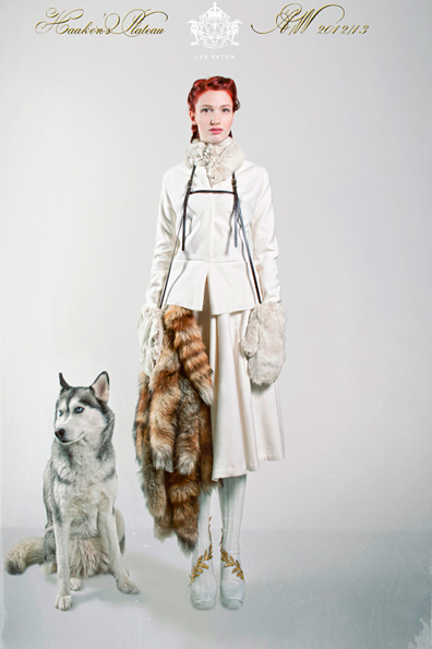 "From Lee Paton's Autumn-Winter 2012/13 collection ""Haakon's Plateau"""