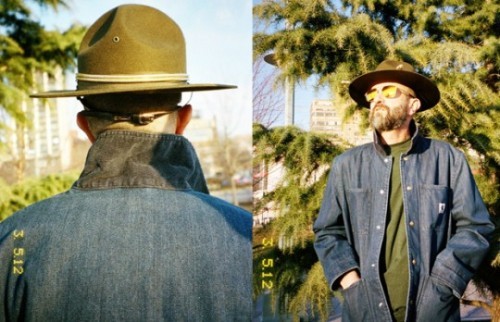 Very nice use of a hat in these shots for the Adam Kimmel-Carhartt AW12 collection