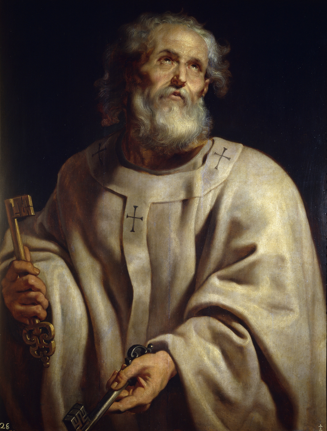 Saint Peter by Peter Paul Rubens