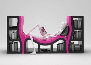 Unusual Bookshelves