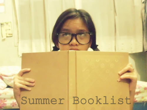 My goal for this summer is to read a lot of books! I have this book list to remind me what I should buy. :) I hope I can read them all this summer! :)