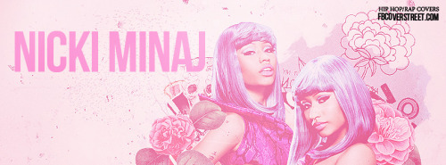 Nicki Minaj 2 Facebook Cover