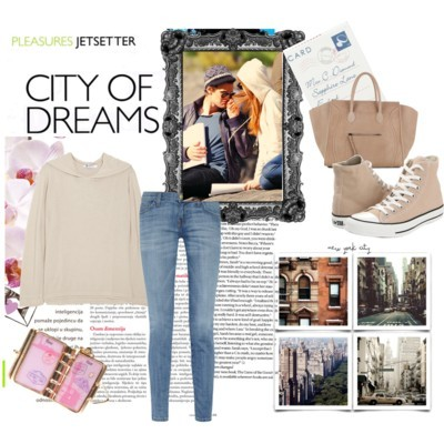 City of Dreams by hopeocean featuring hi top sneakers