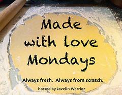 Every Monday I feature from-scratch food by creative and talented bloggers & I call it Made with Love Mondays. Check out this week's recipes & share your own…Made with Love Mondays: Week of 4/16/2012