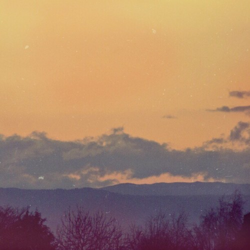 -beliefs:  orange sky. (Taken with instagram)