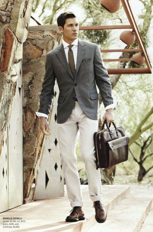 iqfashion:  Brunello Cucinelli Source: Harry Rosen - S/S 2012
