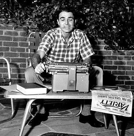 Army Archard, Variety Magazine Reporter, and his Royal Typewriter http://www.etsy.com/shop/TheAntikeyChop