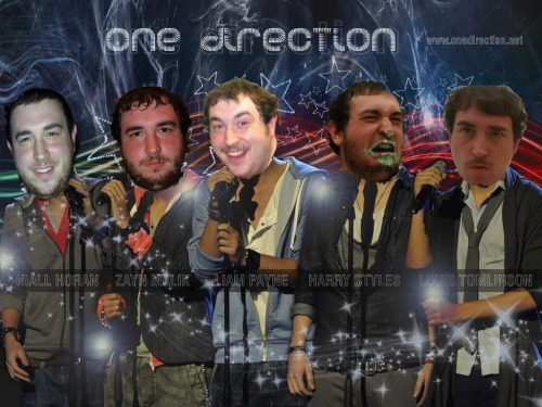 "You guys all gotta check out ""One Direction"". They are gonna be stars."