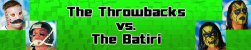 "The Throwbacks (@mrhatfield4 & Mr. Touchdown) vs. The Batiri (@thebatiri) will take place at ""Hot Off the Griddle"" in Chicago on April 28th. The Throwbacks and The Batiri had a mini-feud back in the middle of 2011 which The Batiri won the majority of the matches. Back then however, Sugar Dunkerton was apart of The Throwbacks and Mr. Touchdown was not. Perhaps with a change up in partners The Throwbacks will be more successful this year. Both teams come into this with zero points, though The Throwbacks could leave with two points if they are successful here and against Arik Cannon/Darin Corbin the next night in Lafayette. Who will leave the Midwest with points under their proverbial belt?"