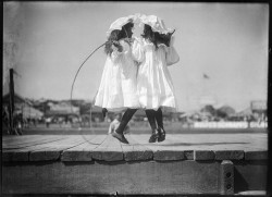 my-yellow-sofa:  Girls skipping at an athletics carnival by Powerhouse Museum Collection on Flickr.