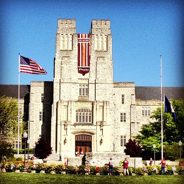 neVer forgeT #hokies #virginiatech  (Taken with instagram)