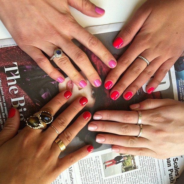 Just another mani Monday ….  (Taken with instagram)
