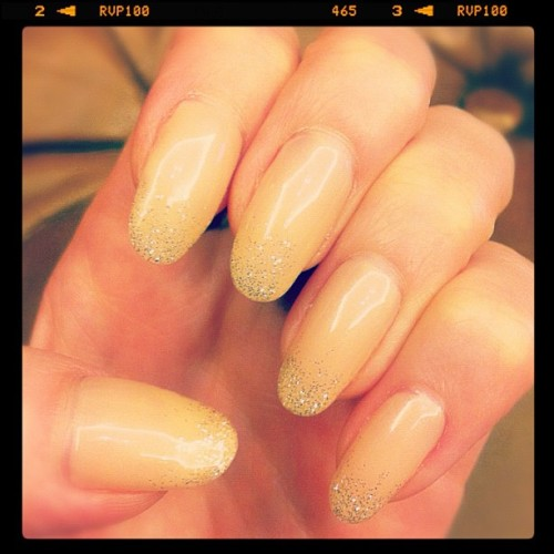 """I switched to more low-key nails.""  [source]"