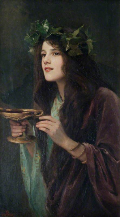 dustoncrowns:  Beatrice Offor - Circe, 1911