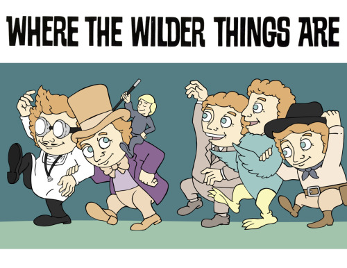 derekeads:  Where The Wilder Things Are by Derek Eads