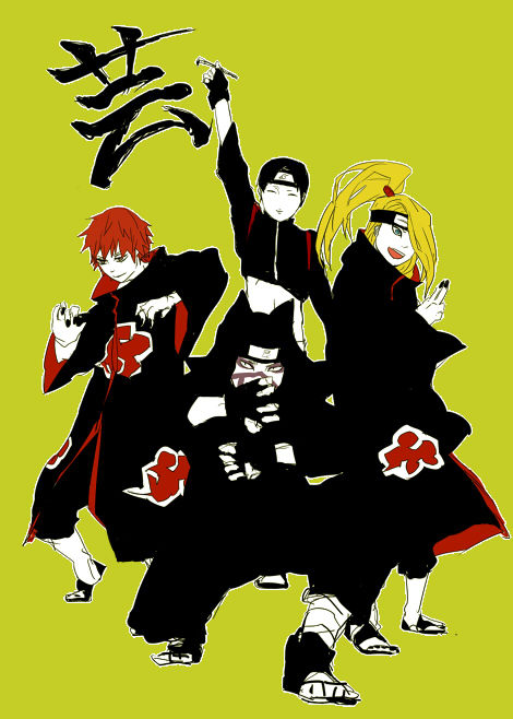 Fandom secret I ship Kankuro with all these sluts