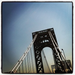 The G.W. Bridge #NYC  (Taken with instagram)