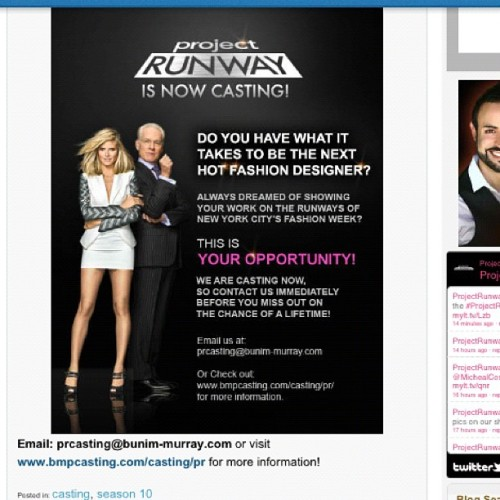 Project Runway Open Casting in LA!!!! (Taken with instagram)