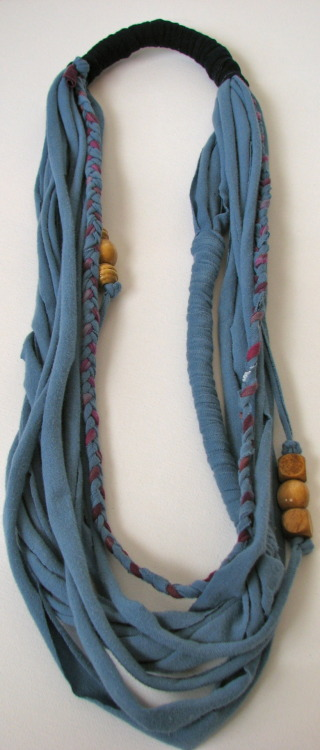 Bluebird Designs Cotton Fibers Necklace