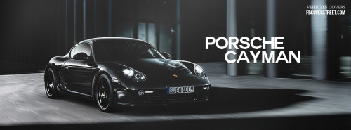 2012 Porsche Cayman Facebook Covers