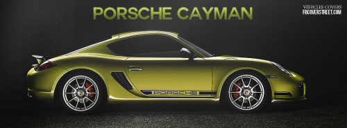 2012 Porsche Cayman 2 Facebook Cover