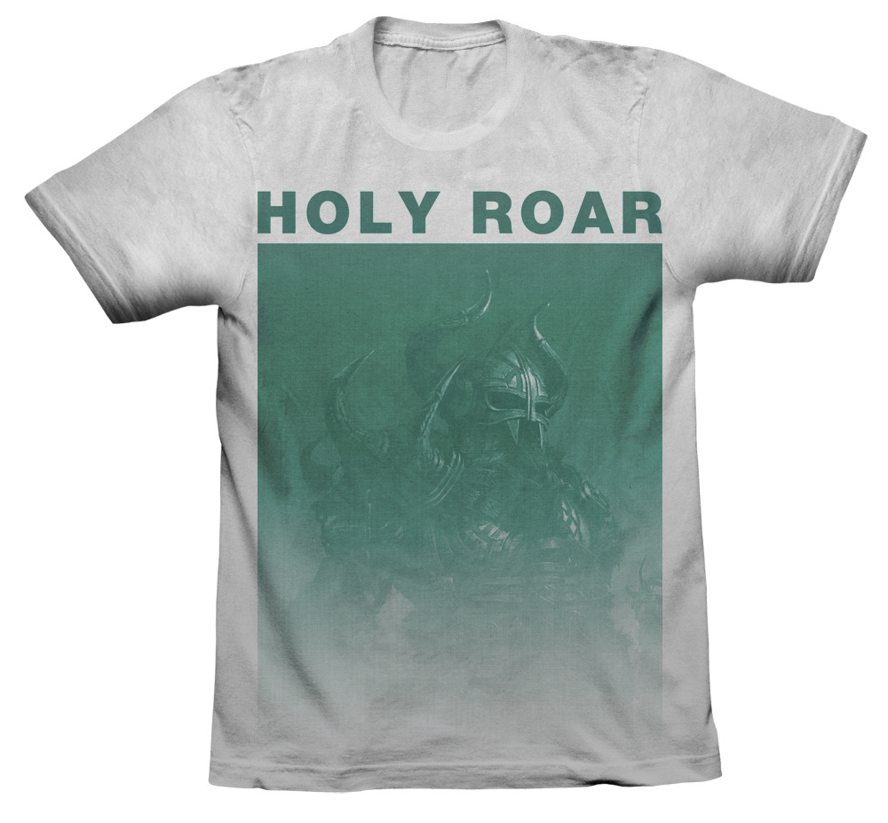 holyroarrecords:  HOLY ROAR VIKING SHIRT Click to preorder! Free goodies with each shirt!