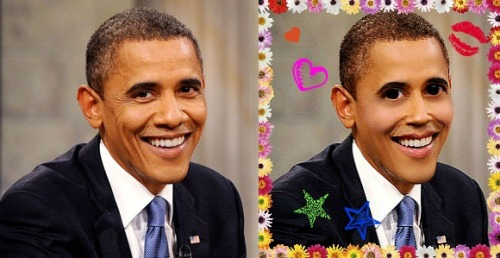 bloody-kokoro:  Kotified Obama.  HAHAHAHAHAHA