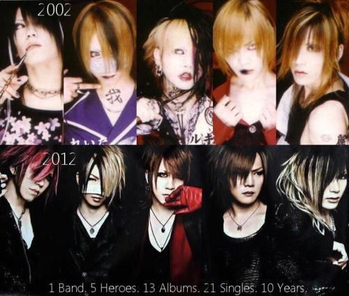 elju-chan:  the gazettE 2002 and 2012