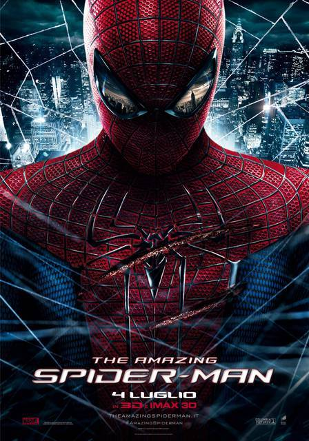 The #AmazingSpiderMan – Ecco il nuovo poster italiano! (via The Amazing Spider-Man – Ecco il nuovo poster italiano! [UPDATE] | Il blog di ScreenWeek.it)