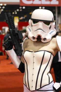 Sexy Stormtrooper at C2E2