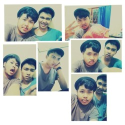 With abay #me #nite  #selfpotrait #bandung #instadaily #instago #instamood #igers #photooftheday #ig_genk #instagram #iphonesia  (Taken with instagram)