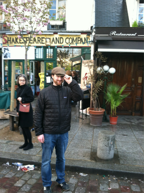 Yesterday I gave a tip of my hat to the world famous Shakespeare and Company Bookstore in Paris, France.