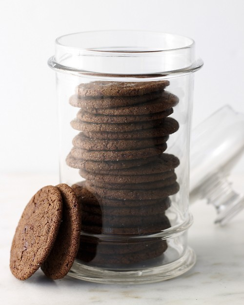 Chewy Chocolate Ginger-Molasses Cookies! (recipe)