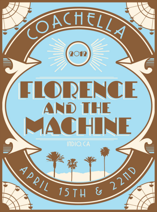 Nice Florence and the Machine Coachella poster here!