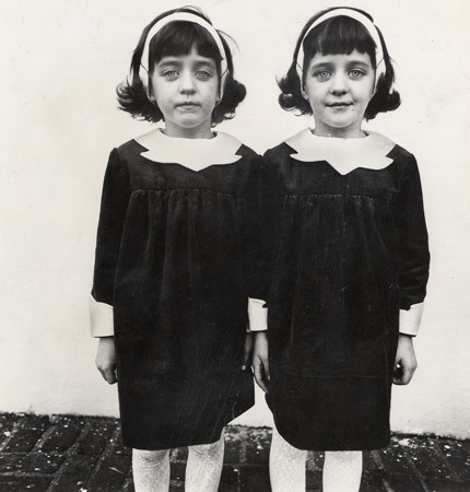 """Twins,"" 1966 by Diane Arbus"