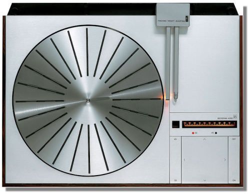gregmelander:  BEOGRAM 4000 The simplicity and elegance of this turntable is amazing.  It is designed by the 80's mastermind Jacob Jensen via wtfdude