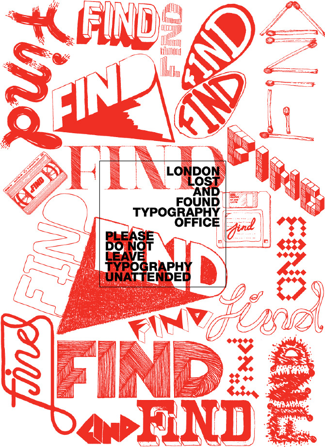 visualgraphic:  Hand Made Typography
