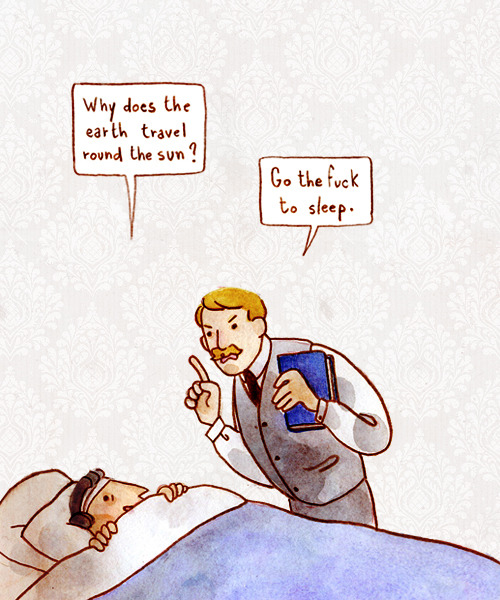 ghostbees:  Bedtime stories with Doctor Watson.