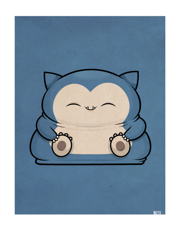 beyx:  Snorlax - Requested by demarko