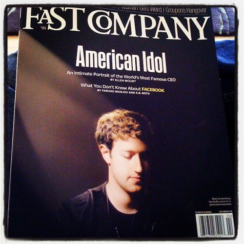 Nice cover photo @zuck  (Taken with instagram)