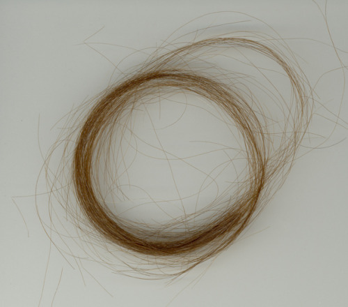 This isn't creepy. Really it's not. I have locks of hair from all of Keats's lovers.