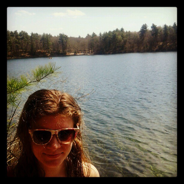 Walden Pond (Taken with instagram)