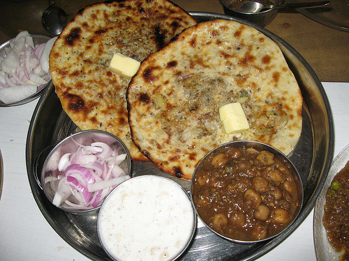 indian-food:  Food at Bharawan da Dhaba, Amritsar
