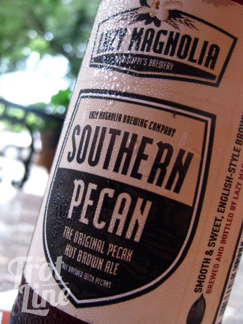 The Trot Line's Lazy Magnolia Southern Pecan review. Read about this insanely creative and distinctly southern beer H E R E .